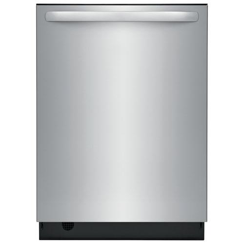 Lave-vaisselle encastrable 24 po 49 dB avec cuve inox et 3e panier de Frigidaire - Inox