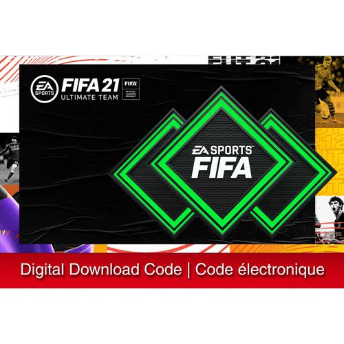 2200 points FIFA Ultimate Team pour FIFA 21 - Téléchargement numérique