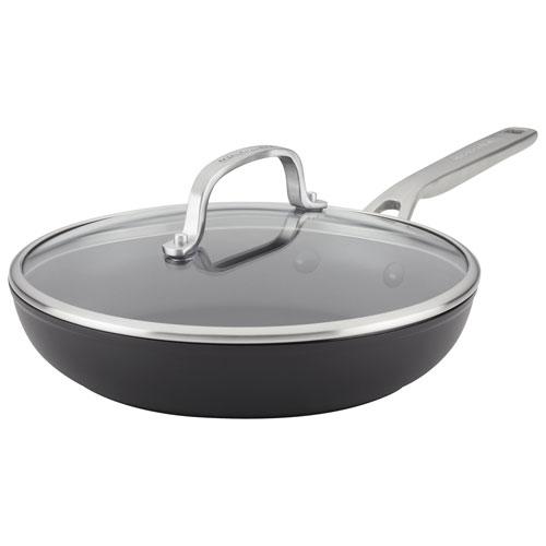 """KitchenAid 10"""" Hard-Anodized Aluminum Frying Pan - Black"""