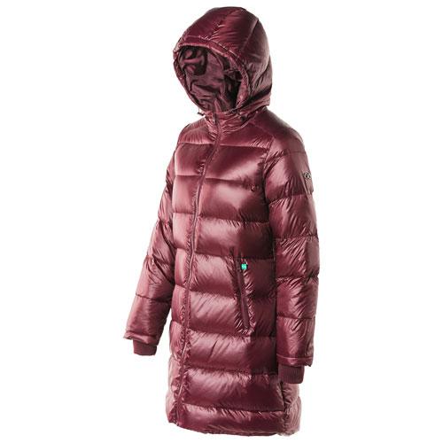 Modern Eternity Naomi Waterproof Parka Coat - Medium - Burgundy