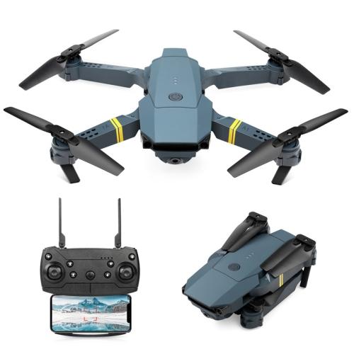 Drone pliable A15F avec caméra HD 1080P Quadricoptère FPV WiFi RC pour débutants, positionnement du flux optique, avec commande vocale, contrôle gest