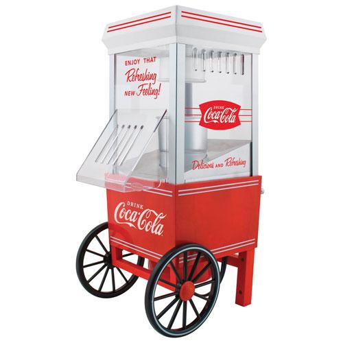 Éclateur de maïs soufflé Coca-Cola de Nostalgia - 12 tasses