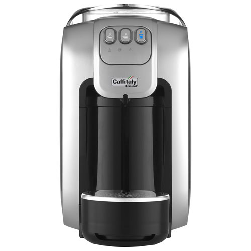 Machine à expresso à capsules automatiques S07 de Caffitaly - Noir