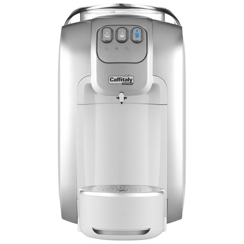 Caffitaly S07 Automatic Capsule Espresso Machine - White