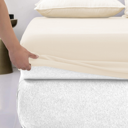 Lavish Touch 100 Cotton Flannel 16 Queen Fitted Sheets Beige Best Buy Canada