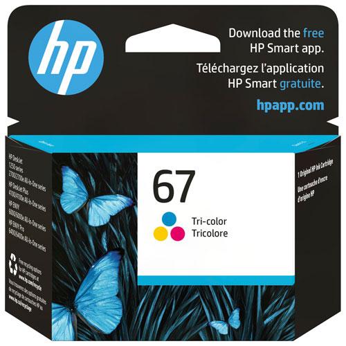 Encre tricolore 67 de HP