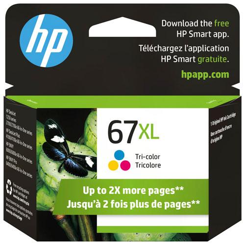 Encre tricolore 67XL de HP