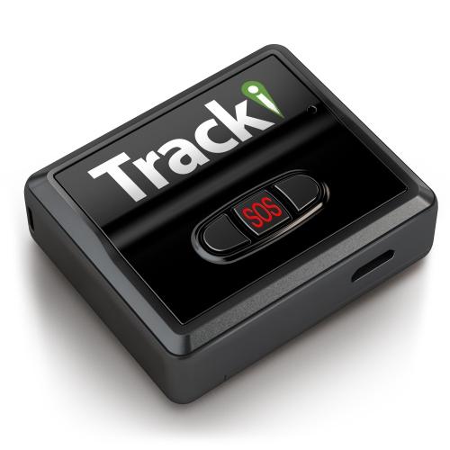 Tracki Universal Real Time Worldwide Mini 3G GPS Tracker - Black