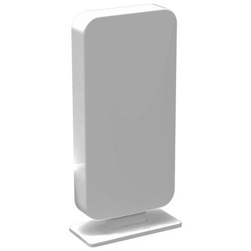 Antenne de téléviseur intérieure et extérieure multidirectionnelle amplifiée ANT5009 de Digiwave