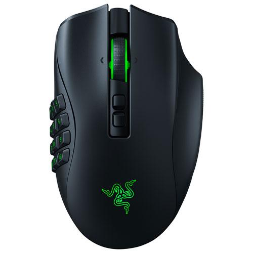 Razer Naga Pro 20000 DPI Wireless Optical Gaming Mouse - Black