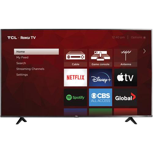 "TCL 4-Series 65"" 4K UHD HDR LED Roku TV Smart TV - 2021"