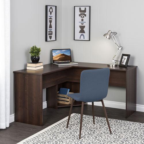 Bureau d'angle Home Office de Prepac - Expresso