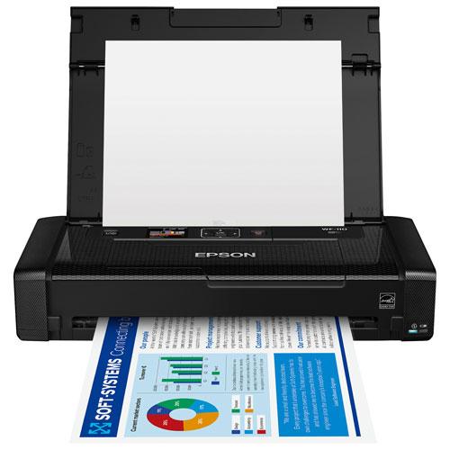 Imprimante à jet d'encre sans fil WorkForce WF-110 d'Epson