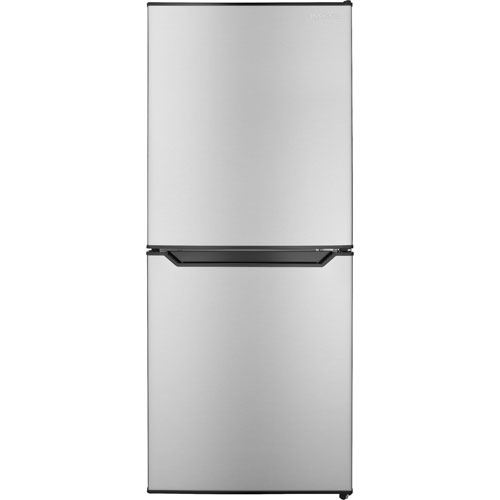 Insignia 4.9 Cu. Ft. Freestanding Compact Fridge - Stainless Steel