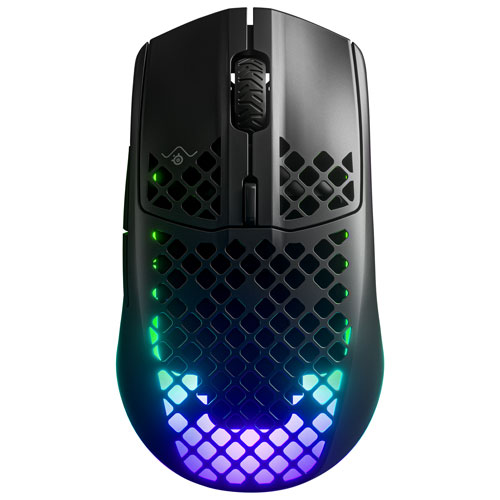 SteelSeries Aerox 3 18000 DPI Bluetooth Optical Gaming Mouse - Black