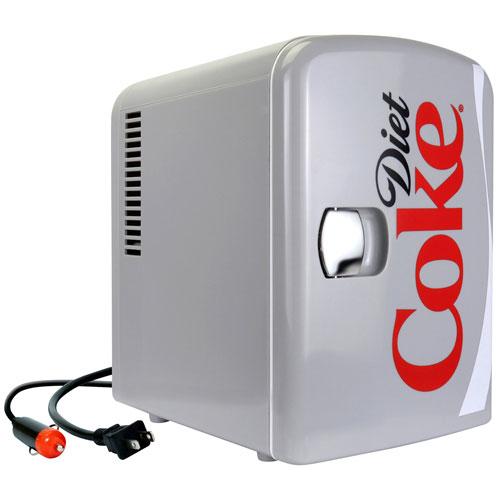 Coca-Cola Diet Coke 0.14 Cu. Ft. Freestanding Bar Fridge