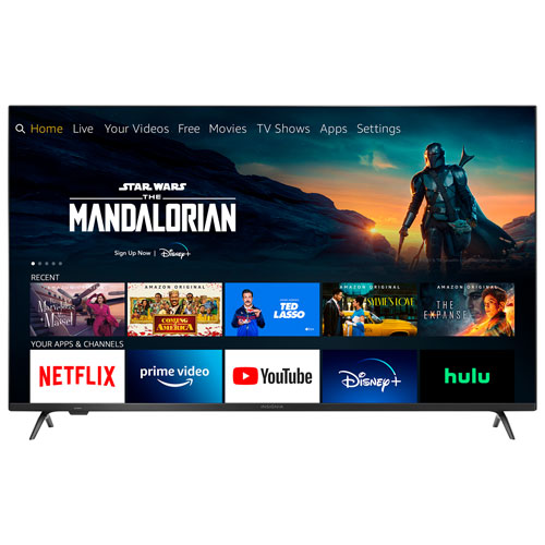 """Insignia 55"""" 4K UHD HDR QLED Fire Smart TV - 2020 - Only at Best Buy"""