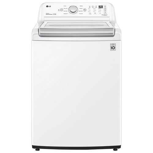 LG 5.8 Cu. Ft. High Efficiency Top Load Washer - White