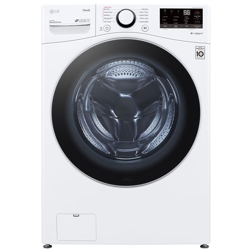 LG 5.2 Cu. Ft. Front Load Washer - White