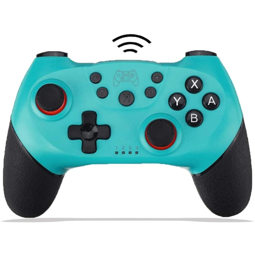 Wireless Switch Pro Controller for Nintendo Remote Bluetooth Gamepad Joystick for Nintendo Switch Console & PC Supports Gyro Axis Turbo and Dual Vibr