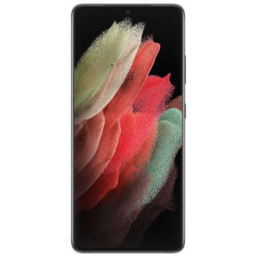 Galaxy S21 Ultra 5G de 128 Go de Samsung offert par TELUS - Noir fantôme - Financement mensuel
