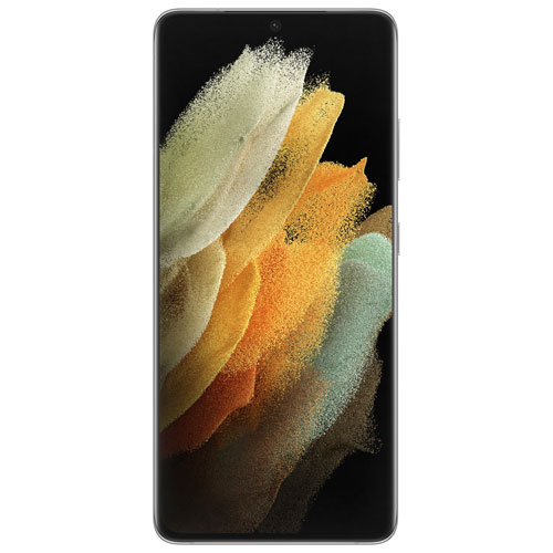 Galaxy S21 Ultra 5G de 128 Go de Samsung offert par TELUS - Argent fantôme - Financement mensuel