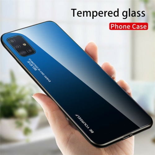Gradient Tempered Glass Phone Case Cover For Samsung Galaxy S20 FE