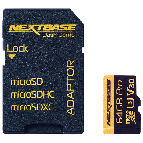 Nextbase 64GB 70 MB/s microSD Memory Card