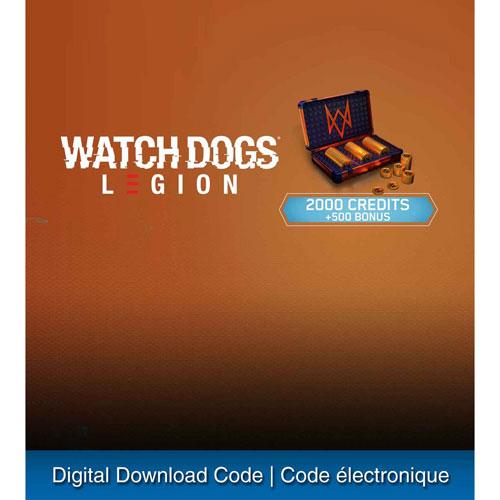 Watch Dogs: Legion - 2500 Credits - Digital Download