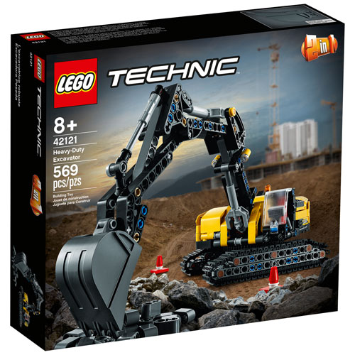 LEGO Technic: Heavy-Duty Excavator - 569 Pieces