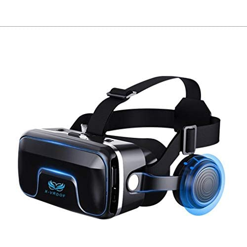 VR Headset Virtual Reality Headset,VR Glasses,VR Goggles -Compatible for iph X 7/7+/6s/6 +/6/5, Samsung Galaxy, Huawei, Google, Moto & All Android Sm