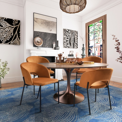 Modern Mid Century Dining Chair, Modern Mid Century Furniture Canada