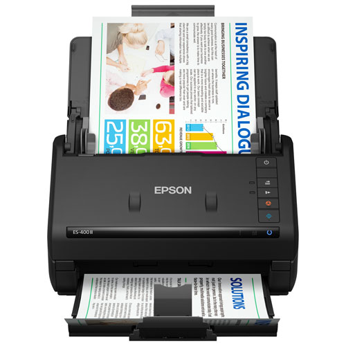Epson WorkForce ES-400 II Duplex Desktop Document Scanner