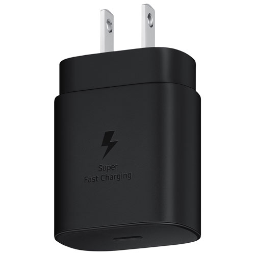 Samsung 25W Fast Charging Wall Charger - Black
