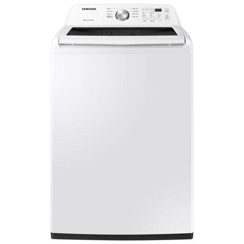 Laveuse haute efficacité à chargement par le haut de 5,2 pi³ de Samsung - Blanc