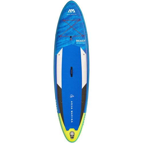 Aqua Marina Beast 10 ft. 6 in. Inflatable Stand-Up Paddleboard - Blue