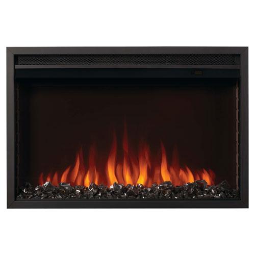 "Napoleon Cineview 30"" Electric Fireplace - 5000 BTU - Black"