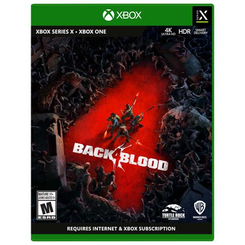 Back 4 Blood with SteelBook - Only at Best Buy