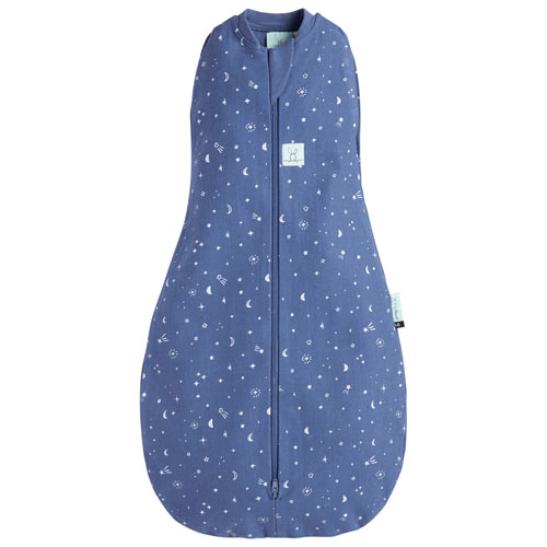 ergoPouch 1.0 TOG Jersey Cotton Sleeping Bag - 3 to 12 Months - Night Sky