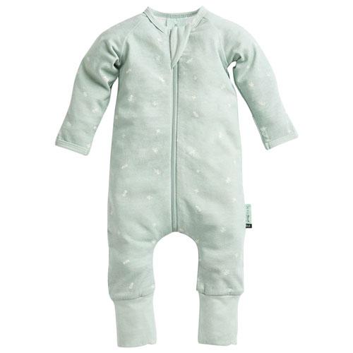 Pyjama en coton pour bébé d'ergoPouch - 0 à 3 mois - Sauge