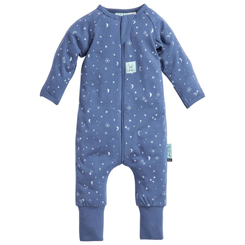ergoPouch Pajama Cotton Baby Sleeper - 6 to 12 Months - Night Sky