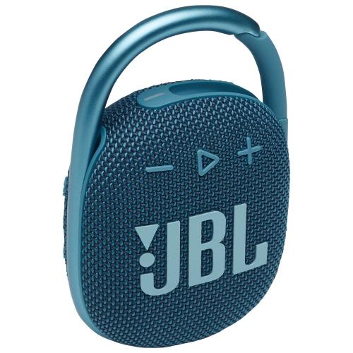 JBL Clip 4 Waterproof Bluetooth Wireless Speaker - Blue