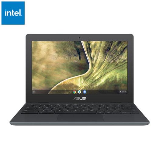 Chromebook C204EE 11,6 po d'ASUS - Gris foncé