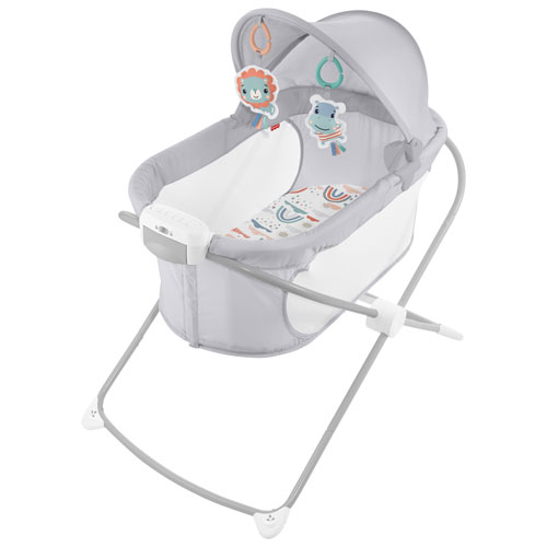 Fisher Price Soothing View Projection Bassinet - Rainbow Showers