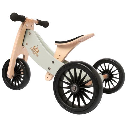Kinderfeets Tiny Tot Plus 2-in-1 Kids Balance Trike/Bike - Silver Sage