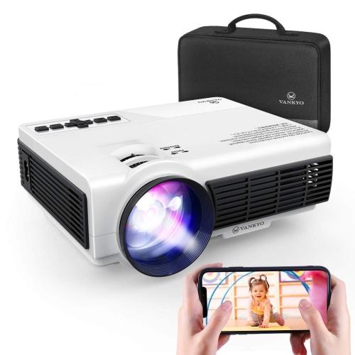 Mini projecteur sans fil Leisure 3W de Vankyo - Blanc