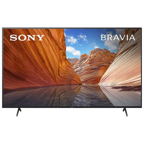 Téléviseur intelligent Google HDR DEL UHD 4K de 55 po X80J de Sony - 2021