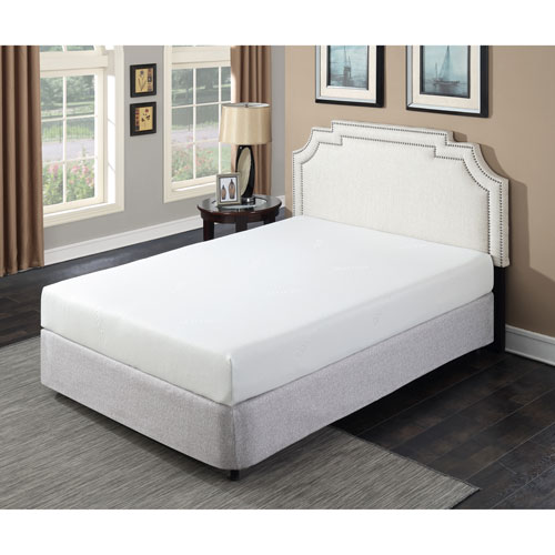 """My Style Collection Divine 8"""" Firm Gel Memory Foam Mattress - King"""