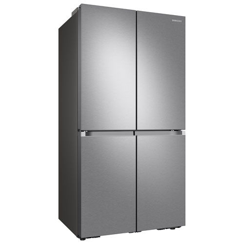 "Samsung 36"" 22.9 Cu. Ft. French Door Refrigerator w/ Water Dispenser - Stainless Steel"