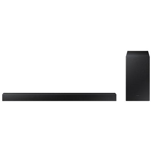 Barre de son 2.1 canaux 300 W HW-A450 de Samsung avec haut-parleur d'extrêmes graves sans fil